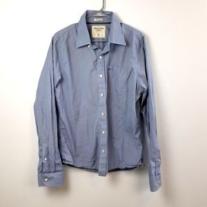 Abercrombie & Fitch Blue Muscle Fit Shirt